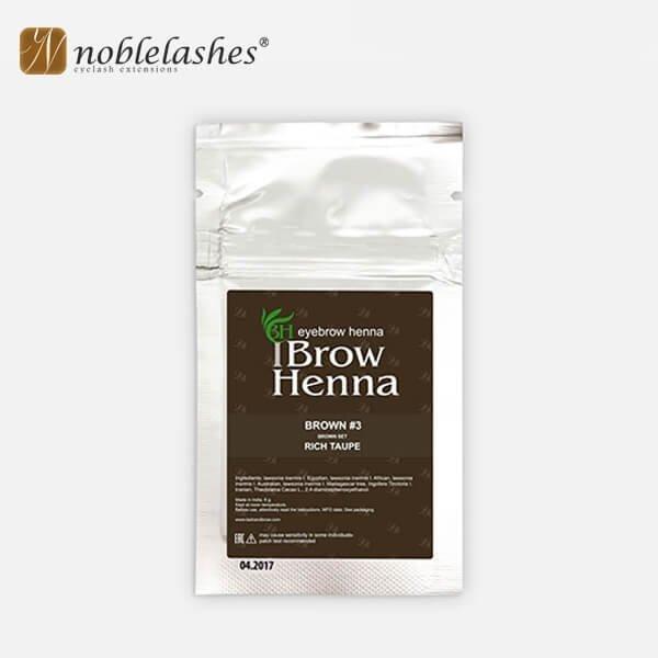 Henna do brwi w saszetkach BH