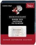 SZAFRAN W PROSZKU BIO (4 x 0,25 g) 1 g - KROKOS KOZANIS