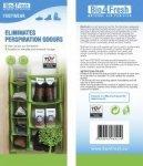 BIO4FRESH naturalny oczyszczacz powietrza BUTY 1szt