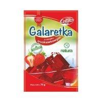 Galaretka o smaku truskawkowym bezglutenowa 75 g 2szt Celiko