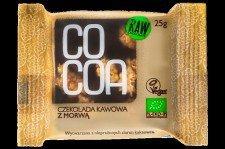 CZEKOLADA KAWOWA Z MORWĄ BIO 25 g - COCOA