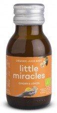 LITTLE MIRACLES bio shot owocowy IMBIR & CYTRYNA 60ml
