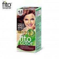 FITOCOLOR farba do włosów 4.5 MOHOGANY