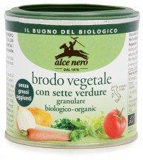 ALCE NERO bio bulion warzywny PROSZEK 120g
