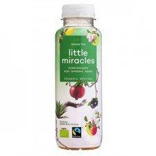 LITTLE MIRACLES bio napój energetyczny ZIELONA HERBATA 330ml
