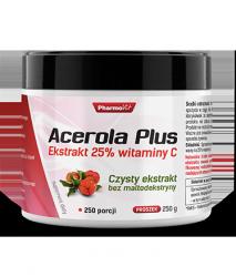 Acerola Plus 250g Ekstrakt 25% witaminy C  250 porcji Pharmovit