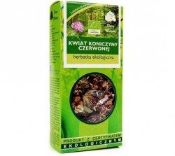 Dary Natury Herbatka ekologiczna Kwiat Koniczyny Czerwonej 25g