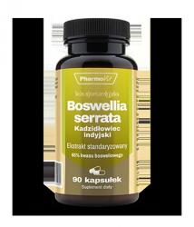 Boswellia serrata - 90 kaps. Kadzidłowiec indyjski  Pharmovit