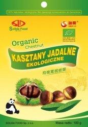 KASZTANY JADALNE (GOTOWANE) BIO 100 g - SOLIDA FOOD