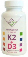 WITAMINA K2mk7+D3 60 TABLETEK - SOUL FARM