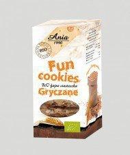 BIO ANIA bio ciasteczka fun cookies GRYCZANE 120g