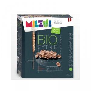 Płatki żytnio-owsiane bez cukru BIO 300 gMilzu
