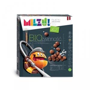 Płatki żytnio-owsiane kulki kakaowe Zwinność BIO 400 g