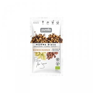 Morwa biała + kruszone ziarna kakao BIO 45 g
