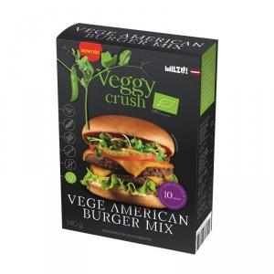 Mieszanka do przyrządzenia Vege American Burger BIO 140 gMilzu