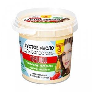 Olejek do włosów pieprzowy z efektem mezototerapii 155 ml