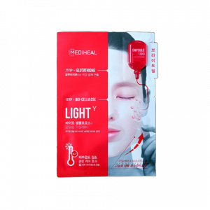 Mediheal Maska do twarzy 2-etapowa z glutathionem 23 ml + 4 ml