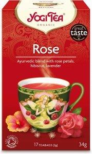 HERBATKA TAO ROSE BIO (17 x 2 g) - YOGI TEA
