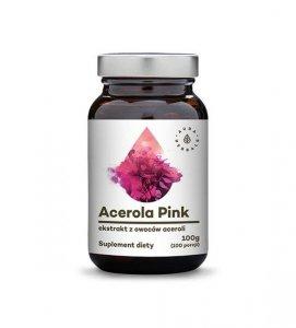Acerola Pink 25% - ekstrakt z owoców - proszek (100g)