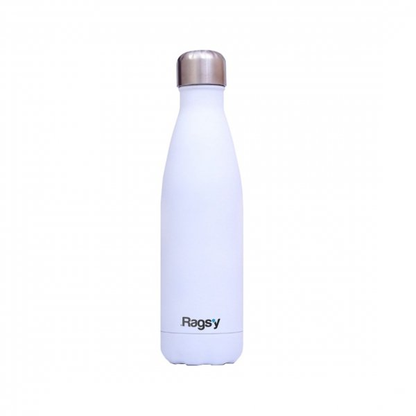 Rags'y fashion bottle 500ml | Snowflake White