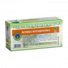 HERBATKA BOMBA WITAMINOWA BIO (20 x 3 g) - DARY NATURY