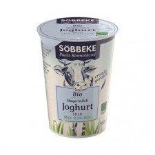 SOBBEKE bio jogurt 0,3% NATURALNY 500g