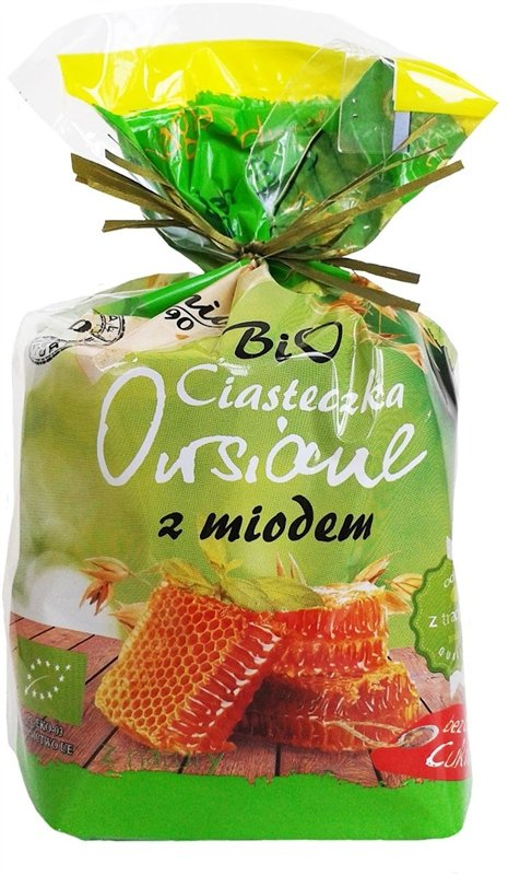 BIO ANIA bio ciasteczka owsiane MIODOWE 150g
