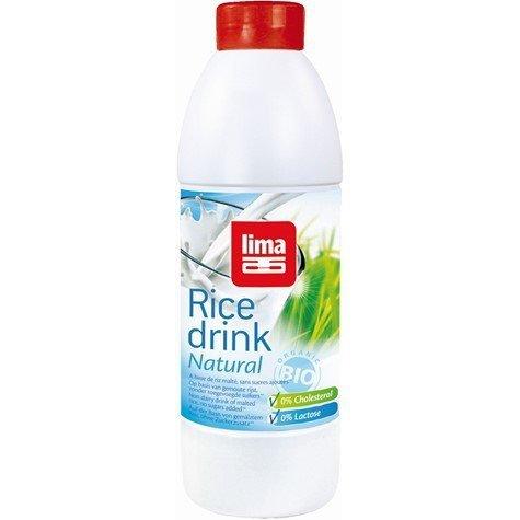 LIMA bio napój ryżowy niesłodzony NATURALNY 1l