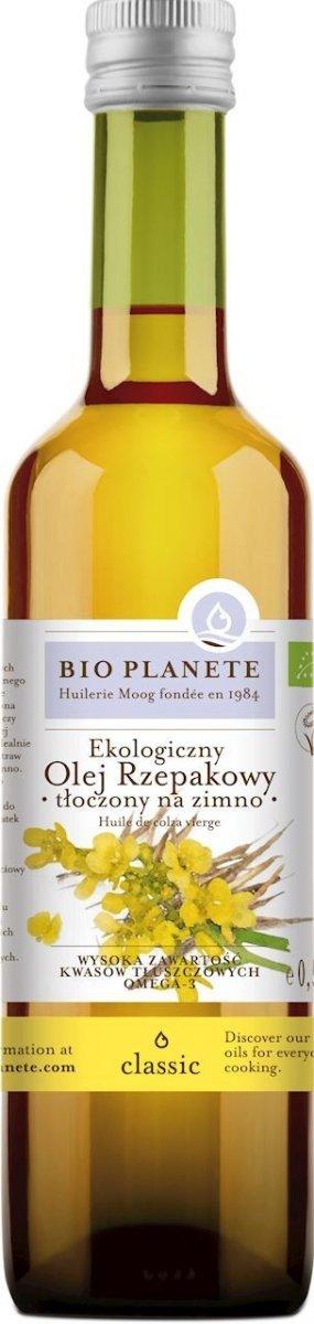 BIO PLANETE bio olej extra virgin SEZAMOWY 500ml
