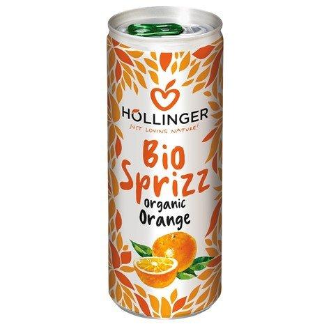 NAPÓJ POMARAŃCZOWY BIO 250 ml (PUSZKA) - HOLLINGER