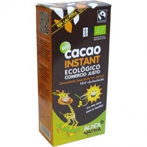KAKAO INSTANT FAIR TRADE BIO 250 g - ALTERNATIVA