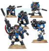 Warhammer 40K - Space Marines Scouts With Sniper Rifles