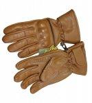 Skórzane rękawice taktyczne RS-798-13 - Coyote Brown