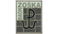 Combat-ID - Naszywka JWK ''Baon Zośka'' Lubliniec - Pustynny - Gen I