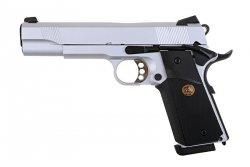 Replika pistoletu R27 - srebrny