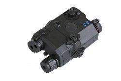 Replika AN/PEQ 15 z celownikiem laserowym - czarna