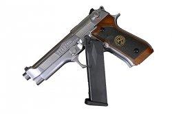 Replika pistoletu Samurai Edge Standard M9 - silver