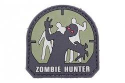 Naszywka 3D – Zombie Hunter - olive