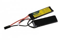 Akumulator LiPo 7,4V 1500mAh 20/40C - 2 modułowy