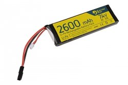 Electro River - Akumulator LiPo 7,4V 2600mAh 25C