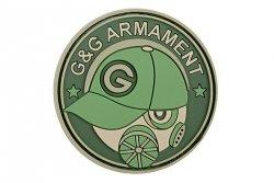 Naszywka G&G PVC - zielona