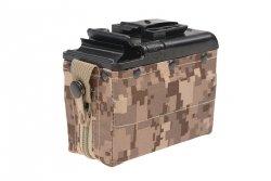 CA  - Magazynek BOX na 1200 kulek do M249 - AOR1