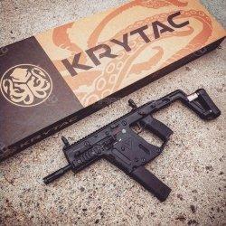 Krytac - Replika KRISS Vector - czarna