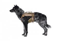 Szelki taktyczne dla psa - TAN