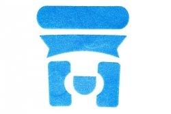 Zestaw rzepów do hełmów FMA Ballistic - niebieski