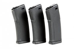 Zestaw 3 magazynków o zmiennej pojemności 30/120 kulek PTS EPM M4