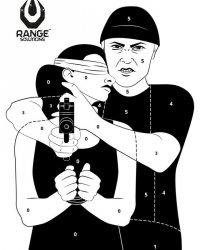 Tarcze Strzeleckie Hostage 50szt
