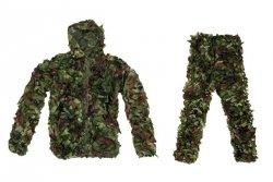Komplet maskujący Ghillie Suit - woodland