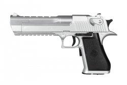 Replika pistoletu Mark-19 - srebrna