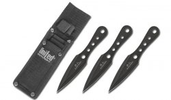 United Cutlery - Black Ronin Triple Thrower Set - UC2802